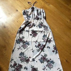 Rue 21 maxi floral dress large